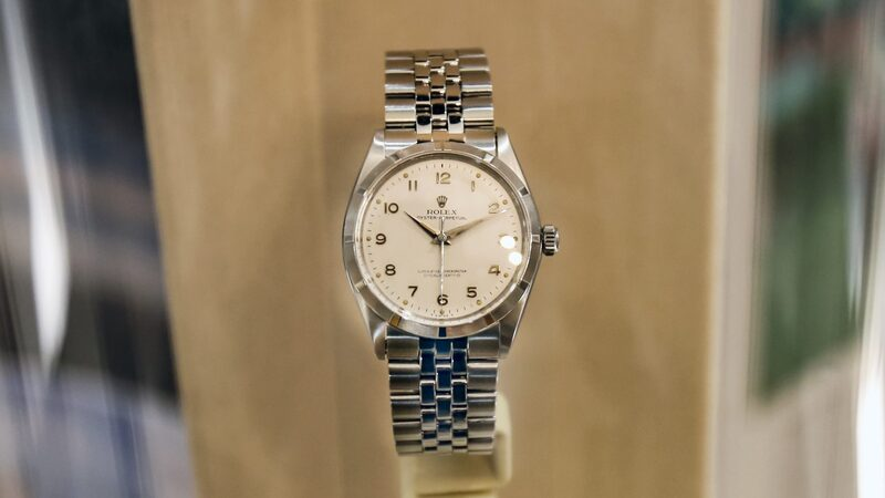 Found: Sir Francis Chichester's Rolex Oyster Perpetual