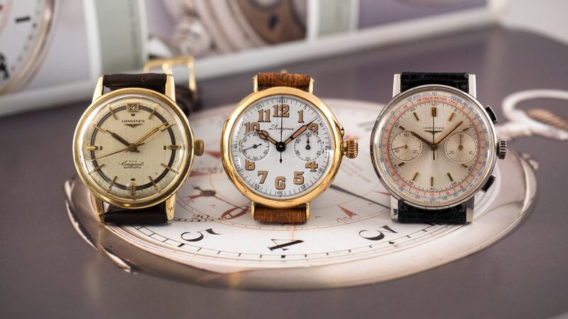 Hands-On: A Mighty Trio Of Vintage Watches From The Longines Museum