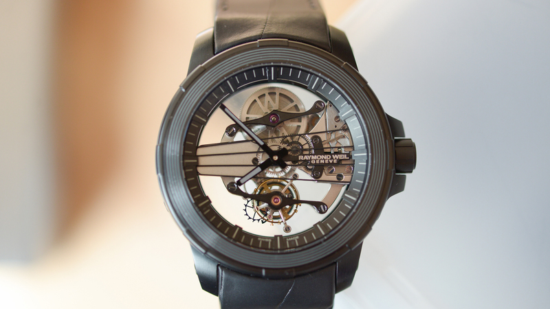 Hands-On: Our Technical Editor's Thoughts On The $40,000 Raymond Weil Nabucco Cello Tourbillon