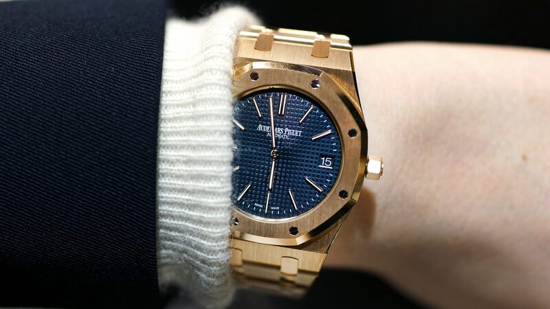 Hands-On: The Audemars Piguet Extra-Thin 'Jumbo' Royal Oak Reference 15202 In Yellow Gold