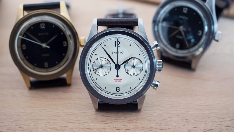 Hands-On: The Baltic Watches Bicompax 001