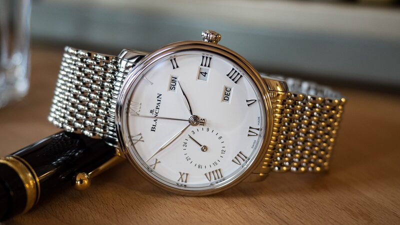 Hands-On: The Blancpain Villeret Annual Calendar GMT In Steel