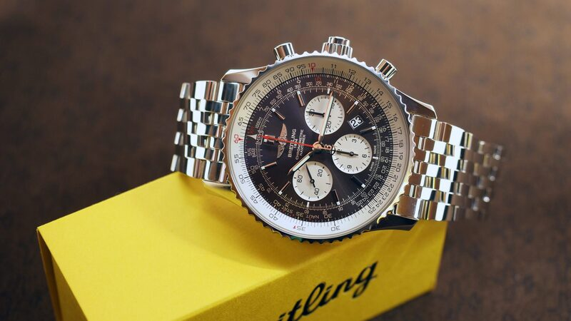 Hands-On: The Breitling Navitimer Rattrapante