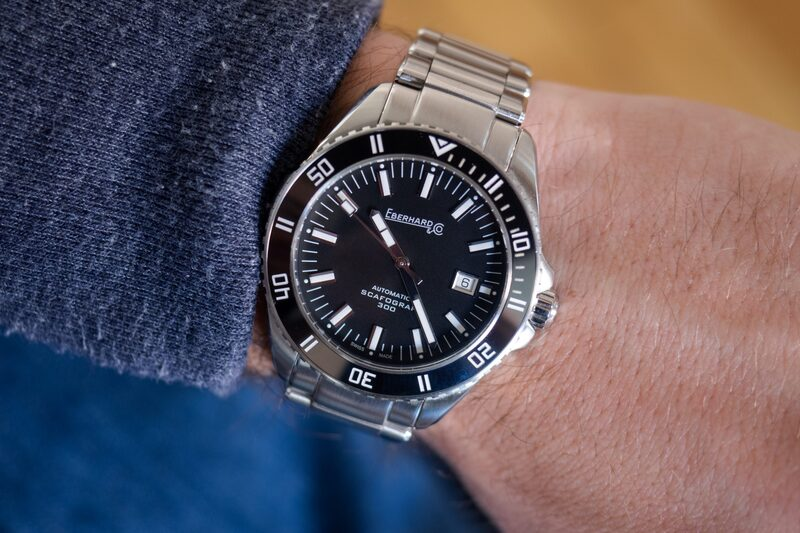 Hands-On: The Eberhard Scafograf 300, A Solid Diver That Happens To Be The 'Sports Watch Of The Year'