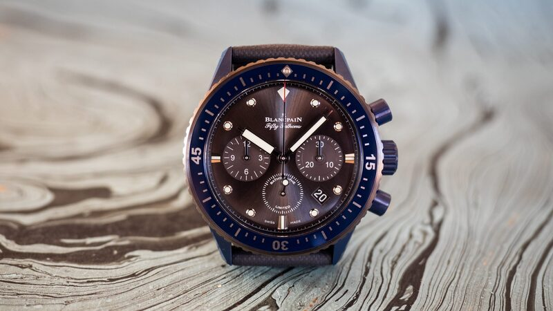 Hands-On: The Fifty Fathoms Bathyscaphe Flyback Chronograph Blancpain Ocean Commitment II