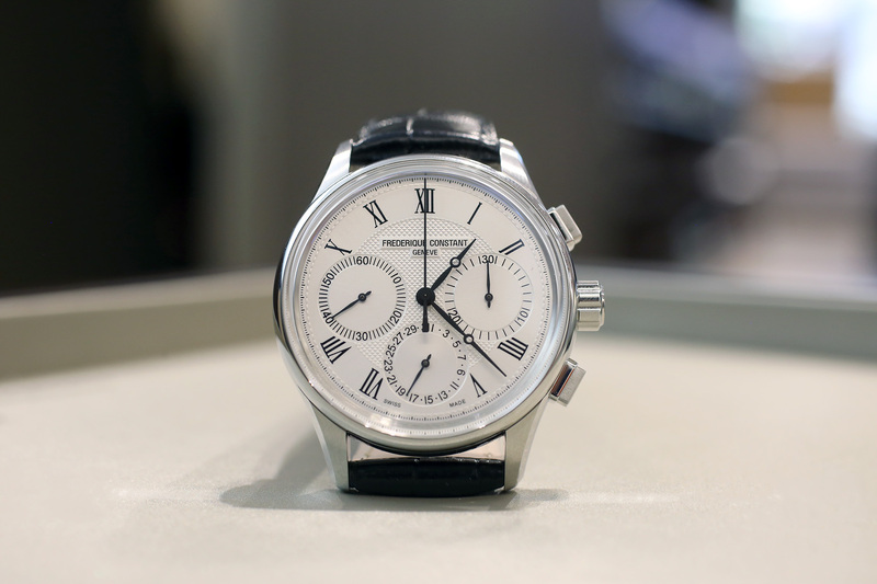 Hands-On: The Frederique Constant Flyback Chronograph Manufacture