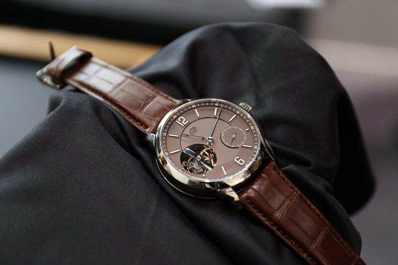 Hands-On: The Greubel Forsey Tourbillon 24 Secondes Vision In Platinum With A Chocolate Brown Dial