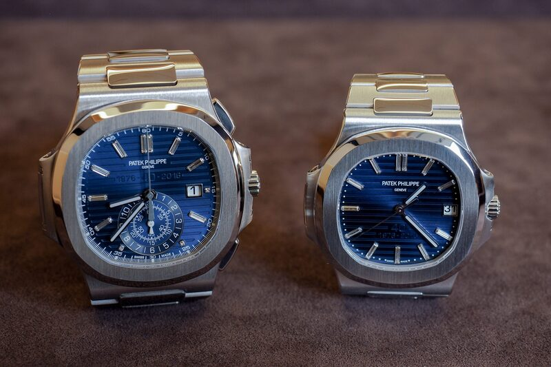 Hands-On: The Patek Philippe 5976/1G And The 5711/1P 40th Anniversary Pateks – And What Do You Know, They Look Very Different In The Metal