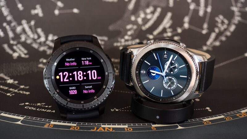 Hands-On: The Samsung Gear S3 Smartwatch Classic And Frontier (Designed By The Guy Who Brought You The Titanic DNA Watch From Romain Jerome)