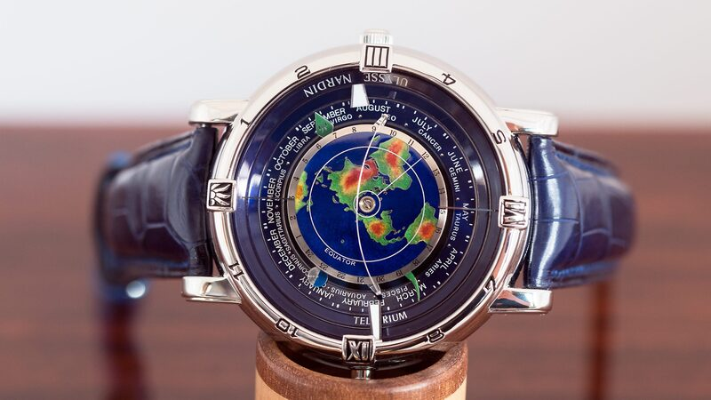 In-Depth: A Ulysse Nardin Tellurium Johannes Kepler, One Of The Three Original Trilogy Of Time Watches From The 1990s