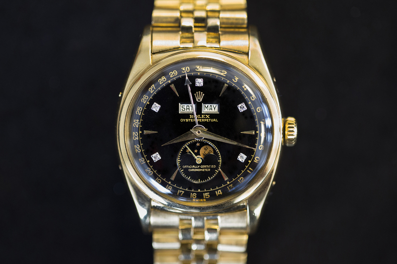 In-Depth: The Rolex Triple Calendar Moonphase Reference 6062 Owned By Bao Dai, Vietnam's Last Emperor