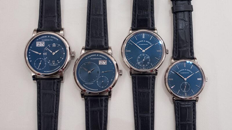 Introducing: Four New Blue Dials From A. Lange & Söhne (Live Pics & Pricing)