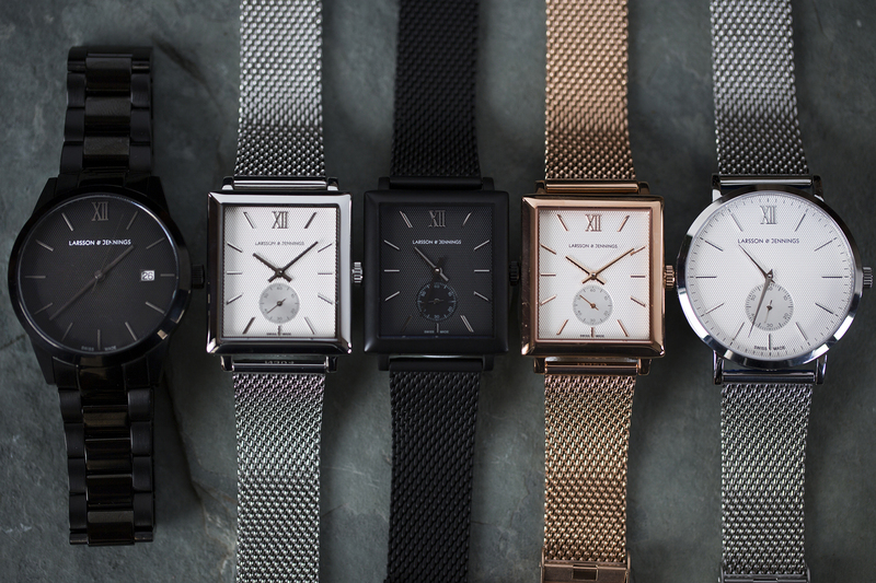 Introducing: Larsson & Jennings's First Mechanical Watch Collections (Live Pics & Pricing)