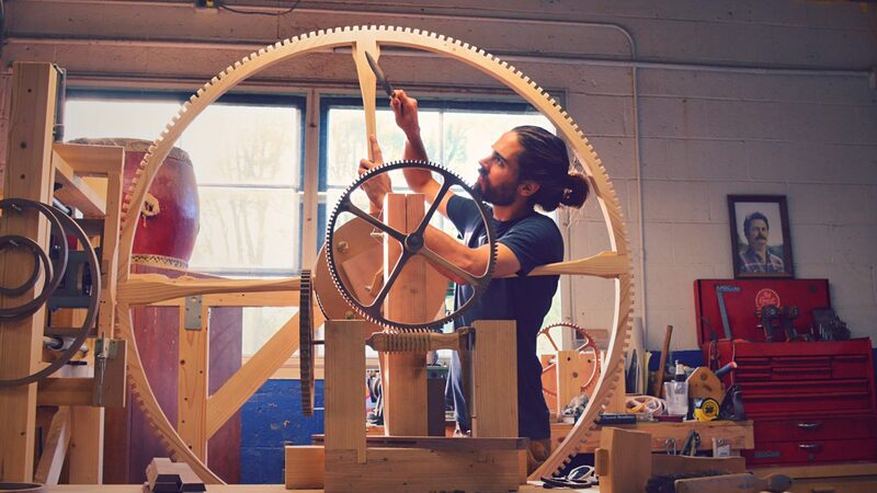 Introducing: Rick Hale's Incredible Large-Scale Wooden Clocks