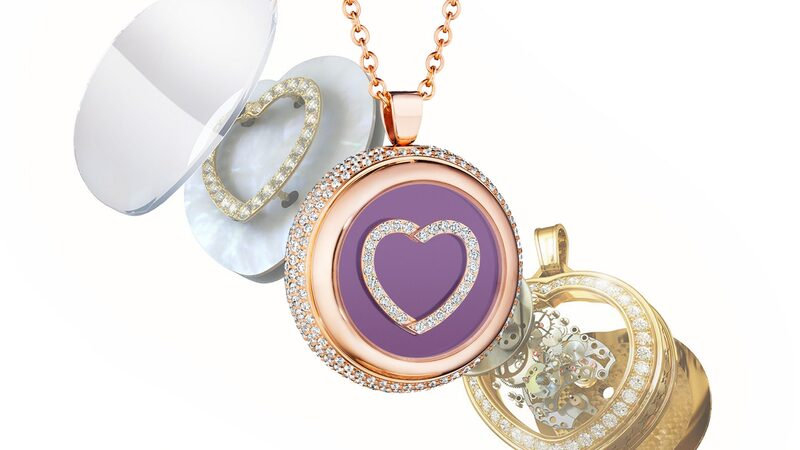 Introducing: The 'Heart's Passion' Beating Mechanical Heart Pendant From Paul Forrest Co.