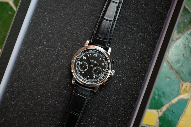 Introducing: The A. Lange & Söhne 1815 Chronograph With Black Dial (Live Pics & Pricing)