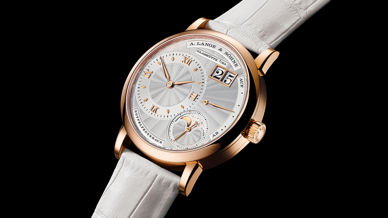 Introducing: The A. Lange & Söhne Little Lange 1 In Pink Gold With A Guilloché Dial