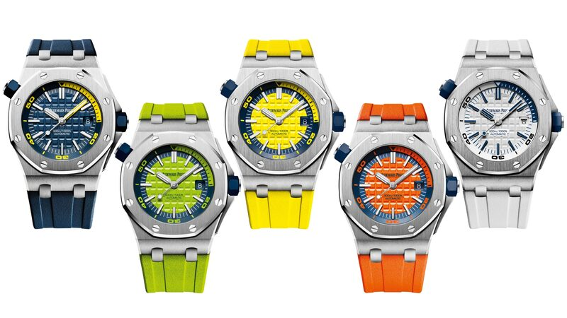 Introducing: The Audemars Piguet Royal Oak Offshore Diver In A Suite Of New (Bright) Colors