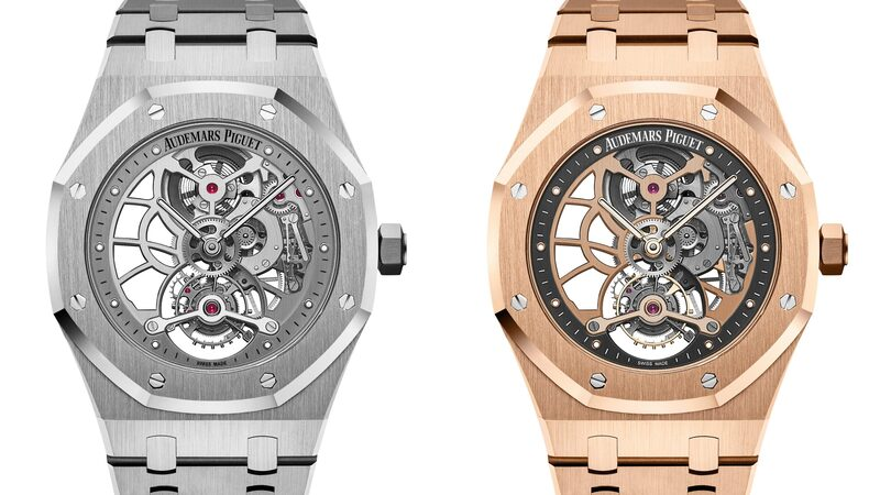 Introducing: The Audemars Piguet Royal Oak Tourbillon Extra-Thin Openworked, Now In Steel And Pink Gold