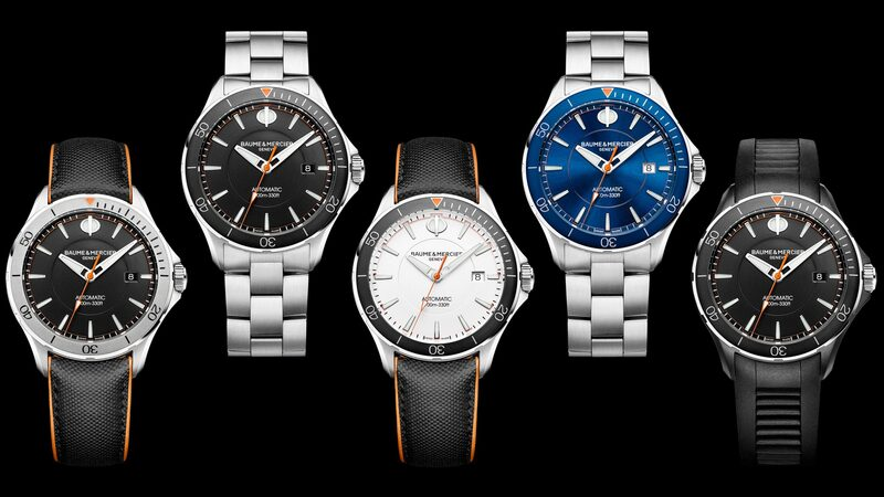 Introducing: The Baume & Mercier Clifton Club, A New Collection Of Dive Watches