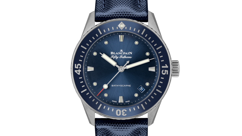 Introducing: The Blancpain Fifty Fathoms Bathyscaphe In 38mm