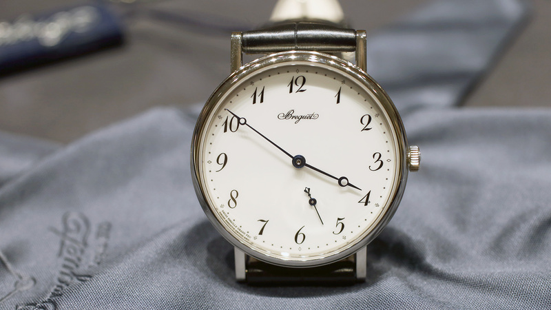 Introducing: The Breguet Classique 7147 With An Enamel Dial (Live Pics & Pricing)
