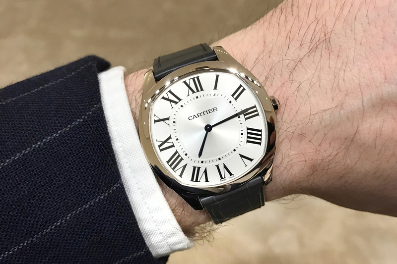 Introducing: The Cartier Drive Extra Flat (Live Pics & Pricing)