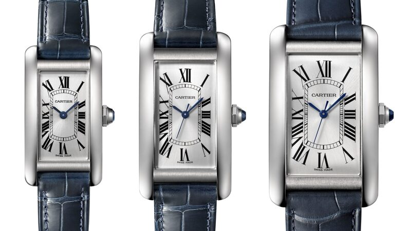 Introducing: The Cartier Tank Americaine In Stainless Steel