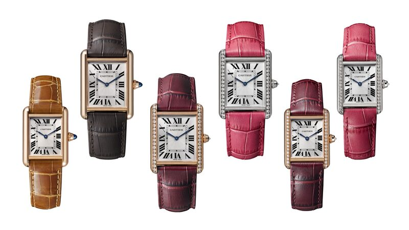 Introducing: The Cartier Tank Louis Cartier 100th Anniversary Models