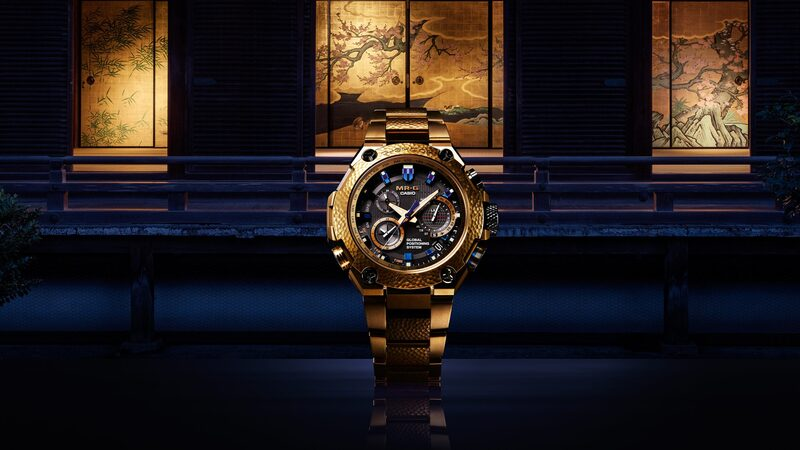 Introducing: The Casio G-Shock 'Hammer Tone' MRG-G10000HG-9A In Gold, Celebrating 20 Years Of MR-G