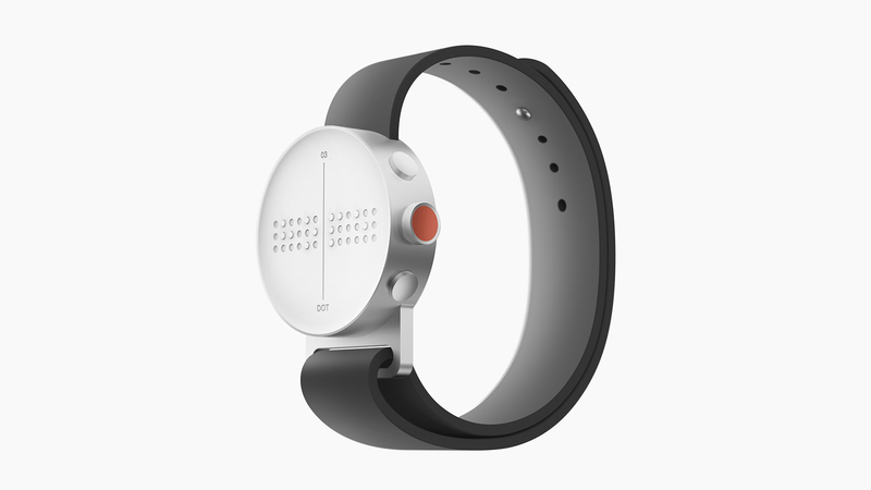 Introducing: The Dot Braille Smartwatch For The Visually Impaired