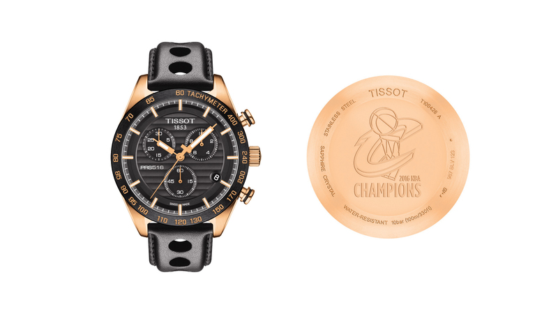 Introducing: The First Ever NBA Championship Watch, By Tissot For the Cleveland Cavaliers
