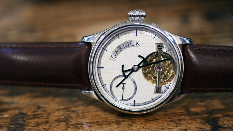Introducing: The Garrick Portsmouth, A British Watch With A New Movement Made In Partnership With Andreas Strehler