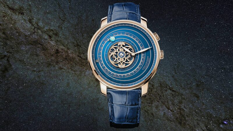Introducing: The Geo. Graham Orrery Tourbillon, A New Version Of Graham's Most Complicated Astronomical Watch