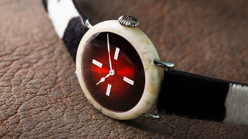 Introducing: The H. Moser Swiss Mad Watch, With A Case Made Of Real Swiss Cheese