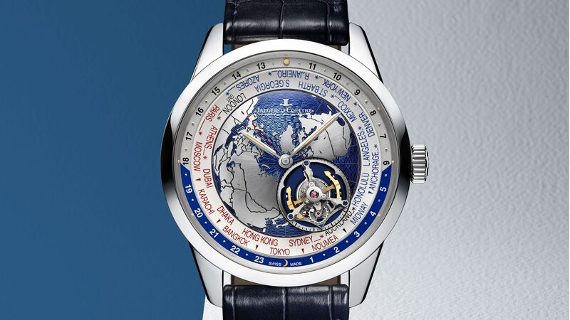 Introducing: The Jaeger-LeCoultre Geophysic Tourbillon Universal Time