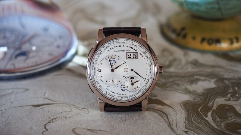 Introducing: The Limited Edition A. Lange & Söhne Lange 1 Time Zone In Honey Gold – With Exclusive Live Pics