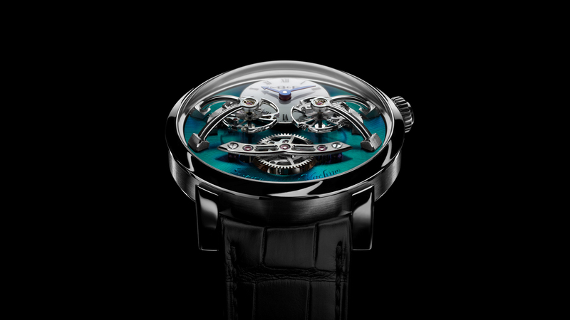 Introducing: The MB&F Legacy Machine LM2, Now In Titanium