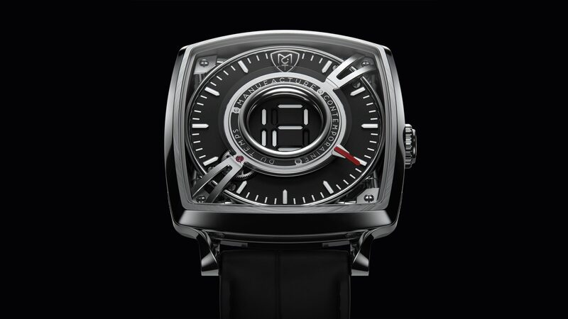 Introducing: The MCT Dodekal One D110, With A Unique Mechanical-Digital Hour Display