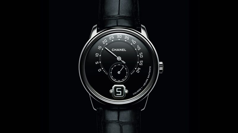 Introducing: The Monsieur de Chanel Limited Edition In Platinum With Black Enamel Dial