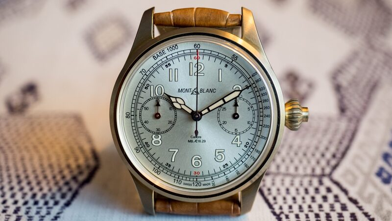 Introducing: The Montblanc 1858 Chronograph Tachymeter Limited Edition In Bronze For SIHH 2017 (Live Pics, Pricing)
