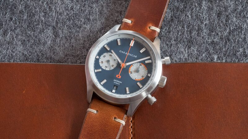 Introducing: The Oak & Oscar Jackson Flyback Chronograph (Live Pics & Pricing)