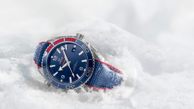 Introducing: The Omega Seamaster Planet Ocean PyeongChang 2018 Limited Edition, Starting The Countdown Until The Winter Olympics