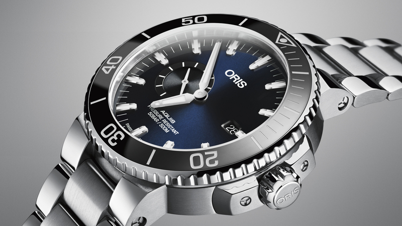 Introducing: The Oris Aquis Small Second Date