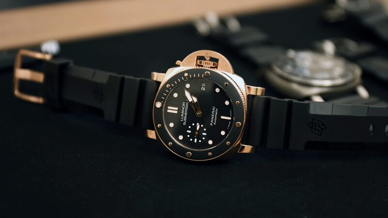 Introducing: The Panerai PAM 684 Luminor Submersible 1950 3 Days Automatic Oro Rosso (Live Pics + Pricing)
