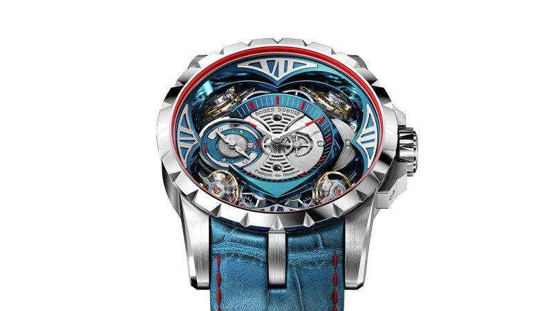 Introducing: The Roger Dubuis Excalibur Quatuor Cobalt MicroMelt (And Two Other New Excalibur Watches)