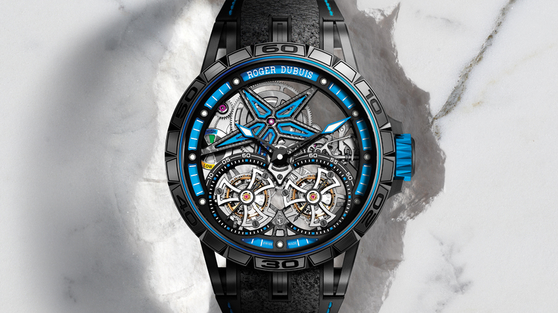 Introducing: The Roger Dubuis Excalibur Spider Pirelli With Double Flying Tourbillon Limited Edition