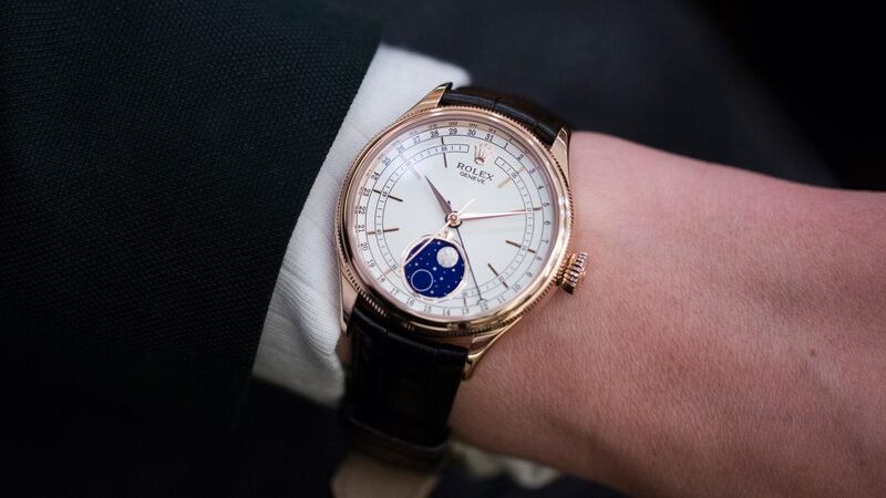 Introducing: The Rolex Cellini Moonphase (Live Pics & Pricing)