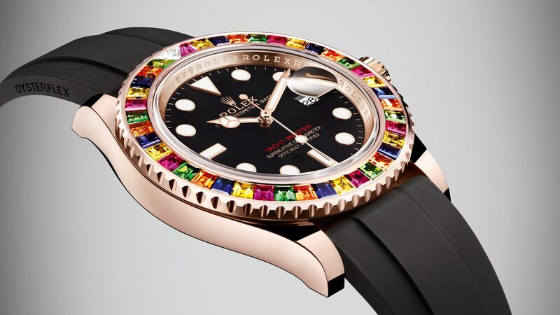 Introducing: The Rolex Yacht-Master 40 With Multi-Color Gem-Set Bezel