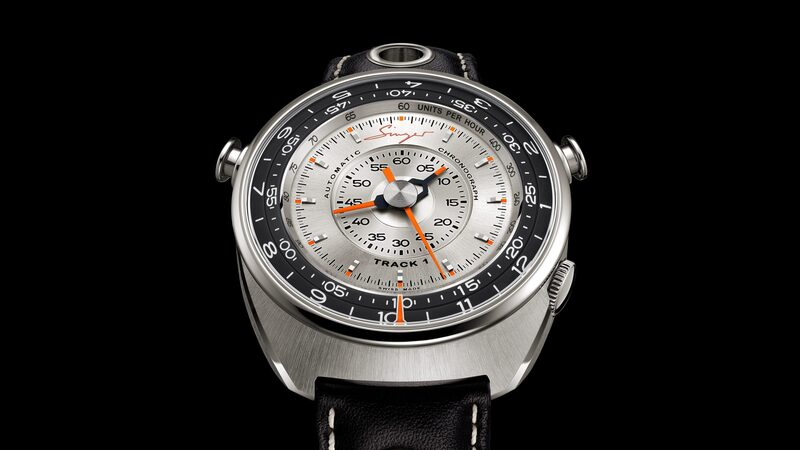 Introducing: The Singer Track1 Chronograph, Featuring The AgenGraphe Caliber By Jean-Marc Wiederrecht